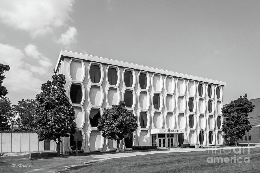 Marquette University Photograph - Marquette University Lalumiere Hall by University Icons