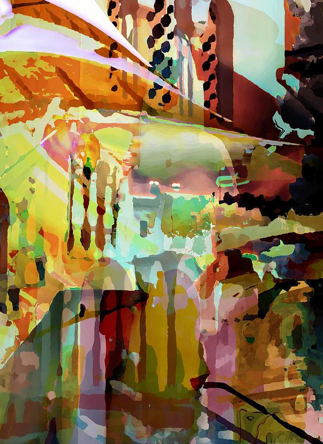Marrakech Digital Art - Marrakesh Arches by Sarah Vernon