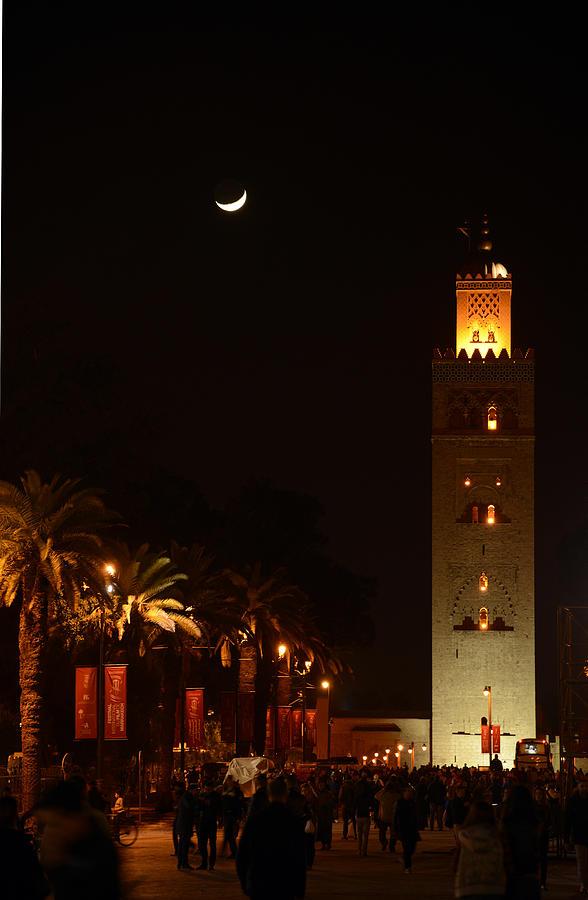 Marrakech Photograph - Marrakech Mosque by Andrea Gabrieli
