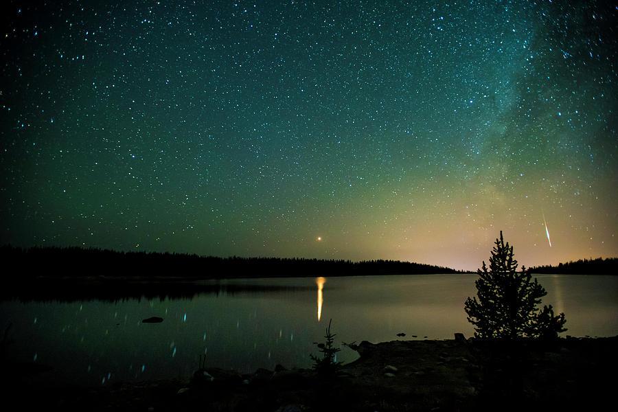 Mars-MilkyWay-Meteor by Jay Anne Boza