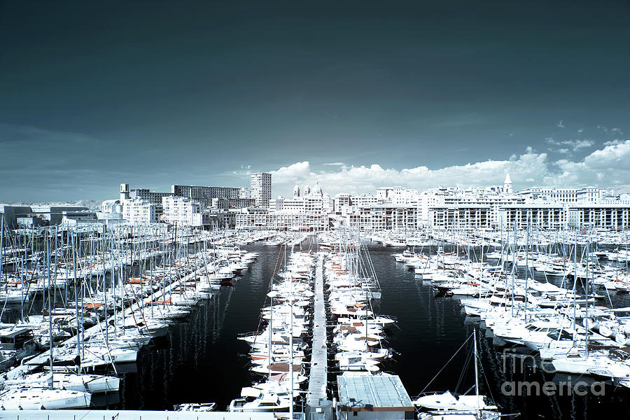 Clouds Photograph - Marseille Blues by John Rizzuto