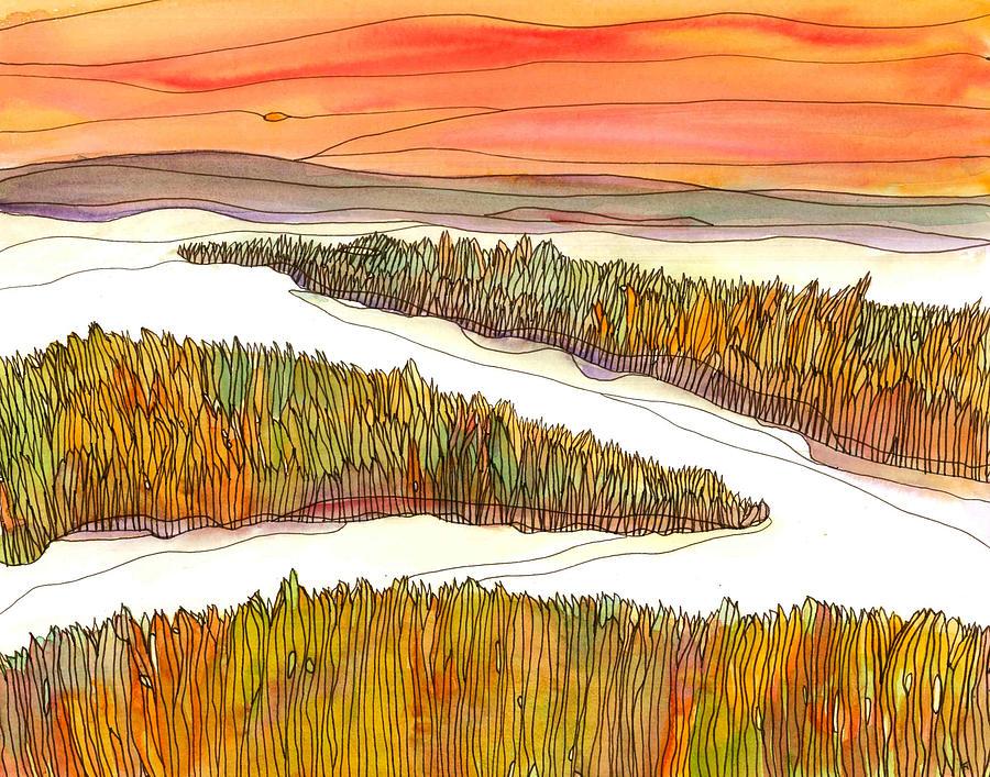 Marsh Painting - Marsh 3 by Katie Ree