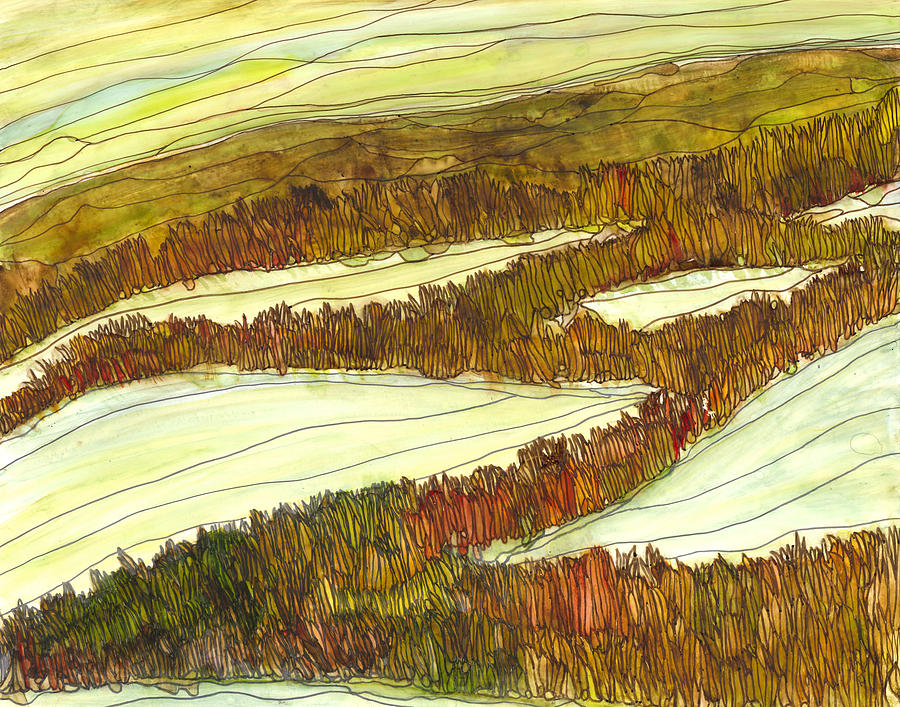 Beauty Painting - Marsh 9 by Katie Ree