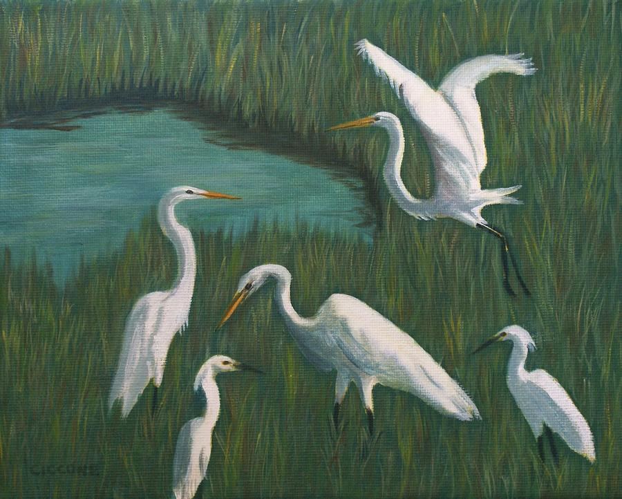 Marsh Gathering by Jill Ciccone Pike