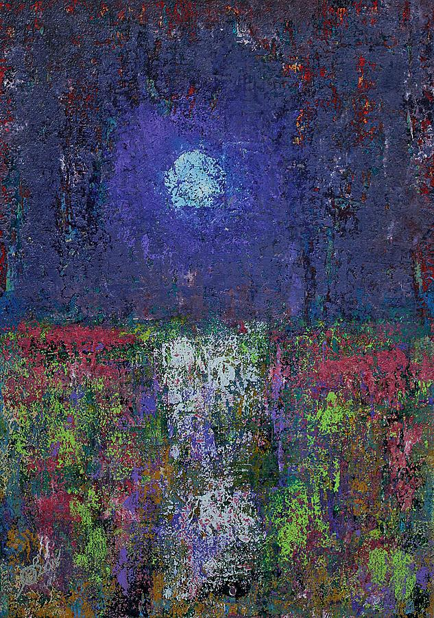 Marsh Glow original painting by Sol Luckman