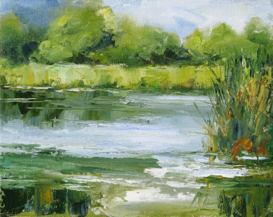 Marsh Inlet Painting by Barrett Edwards