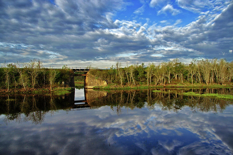 Marsh Reflections HDR by Jeff Galbraith