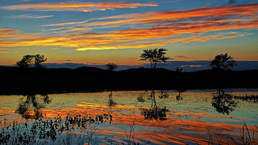 Marsh Sunset HDR by Jeff Galbraith