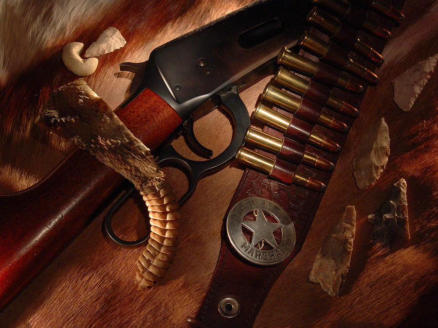Western Photograph - Marshal by Daniel Alcocer
