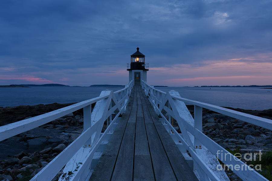 5d Mkii Photograph - Marshall Point Lighthouse by Joshua Clark