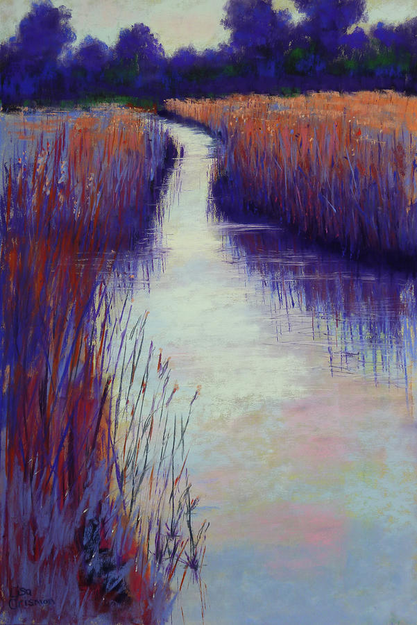 Marshy Reeds by Lisa Crisman