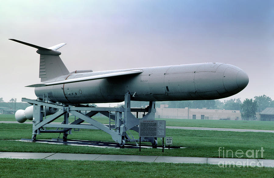 Uav Photograph - Martin Cgm-13b Mace Uav, Surface-to-surface Tactical Missile by Wernher Krutein