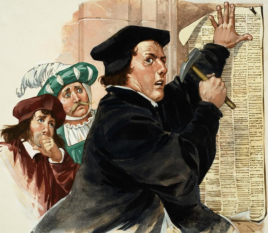 luthers 95 theses quizlet