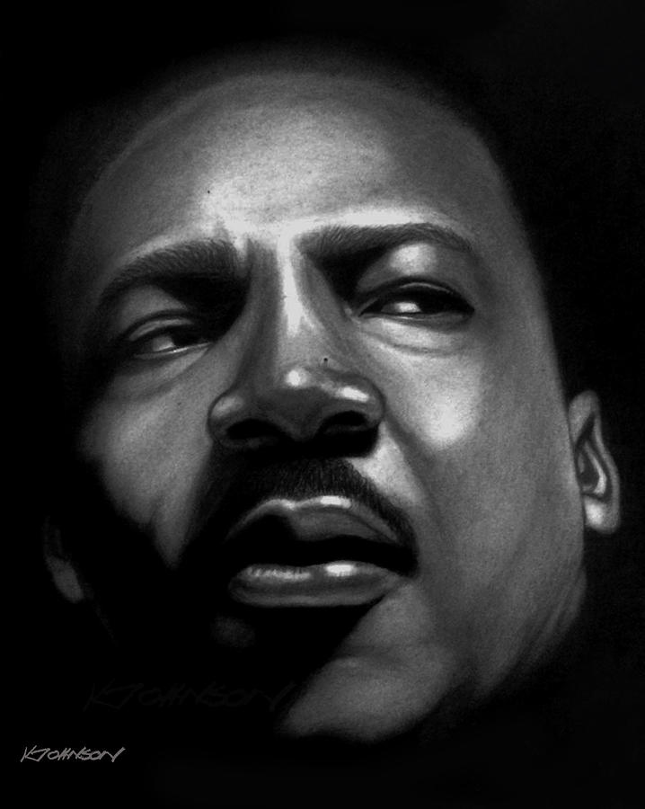 Martin Luther King, Jr. by Kevin Johnson Art