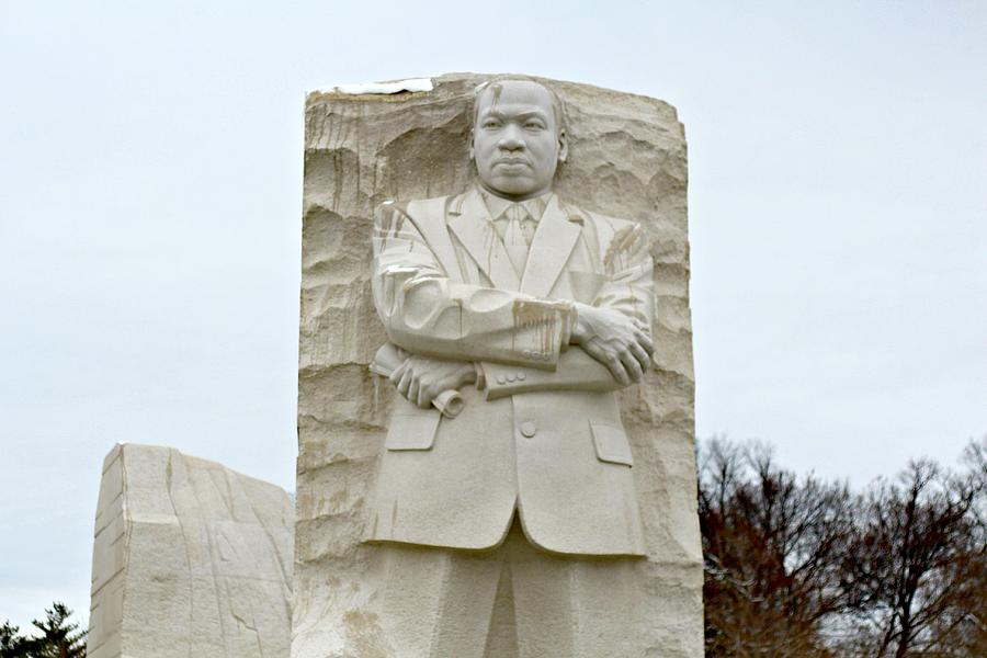 Martin Luther King Jr Memorial In Washington Dc Photograph By