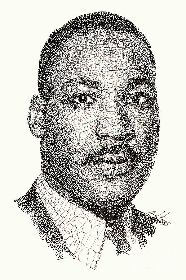 Martin Luther King Jr Drawing
