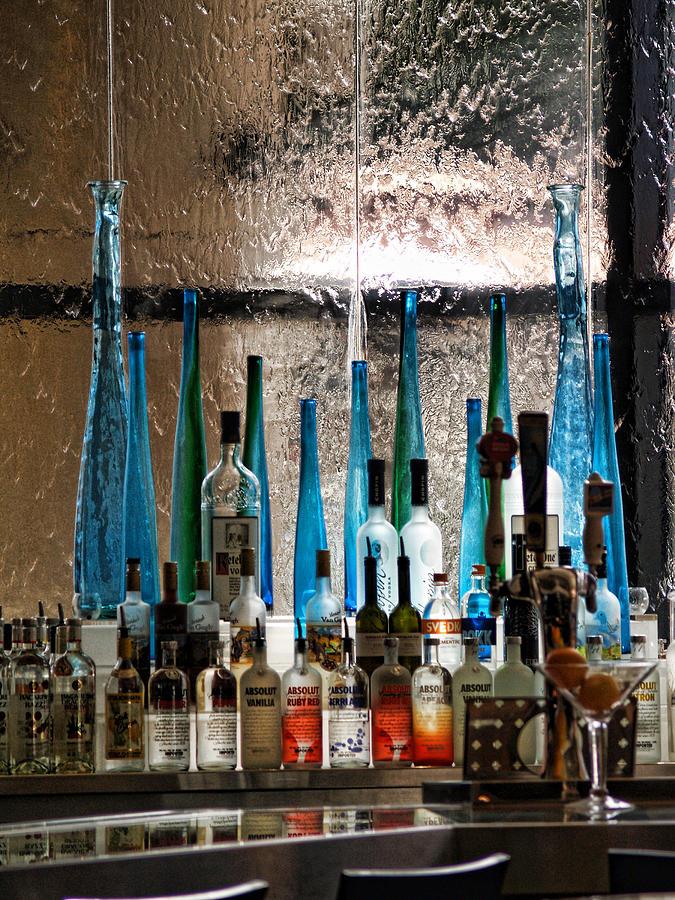 Bar Photograph - Martini by Athala Carole Bruckner