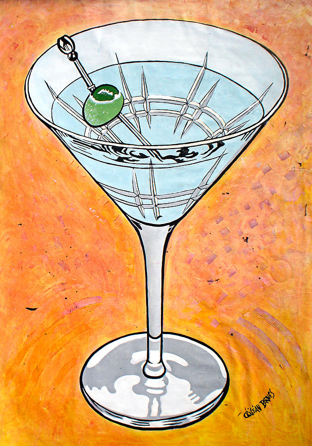 Martini Painting by Cristian Barnes