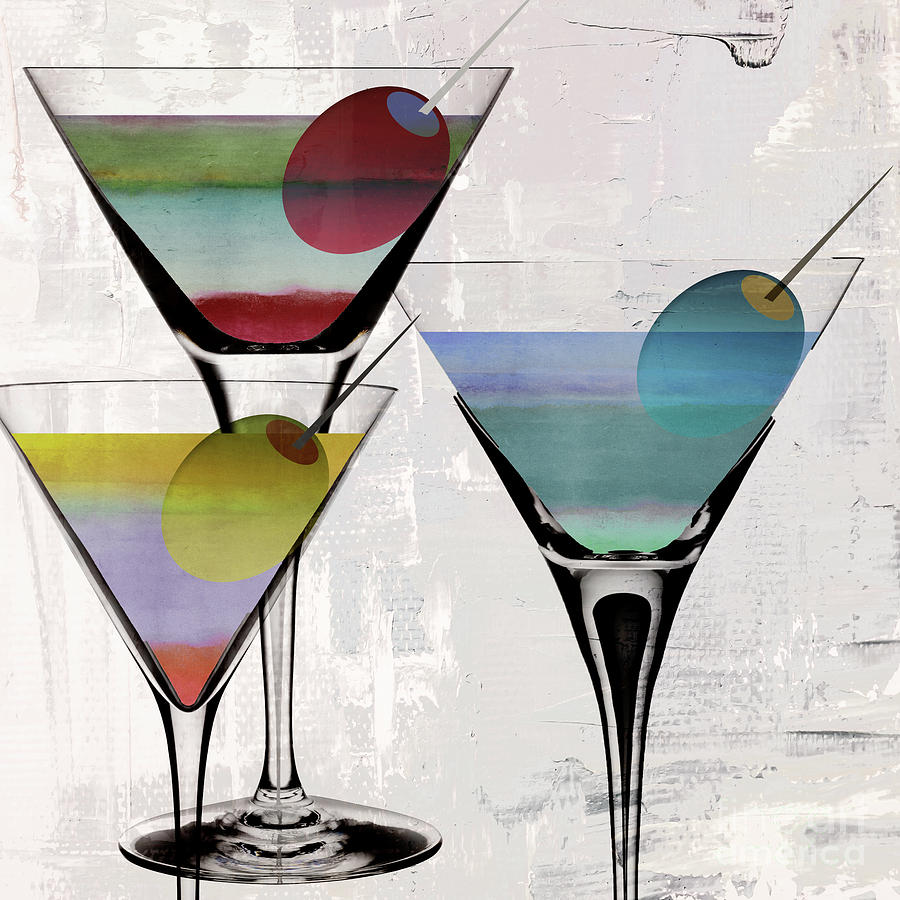 Martini Prism Painting