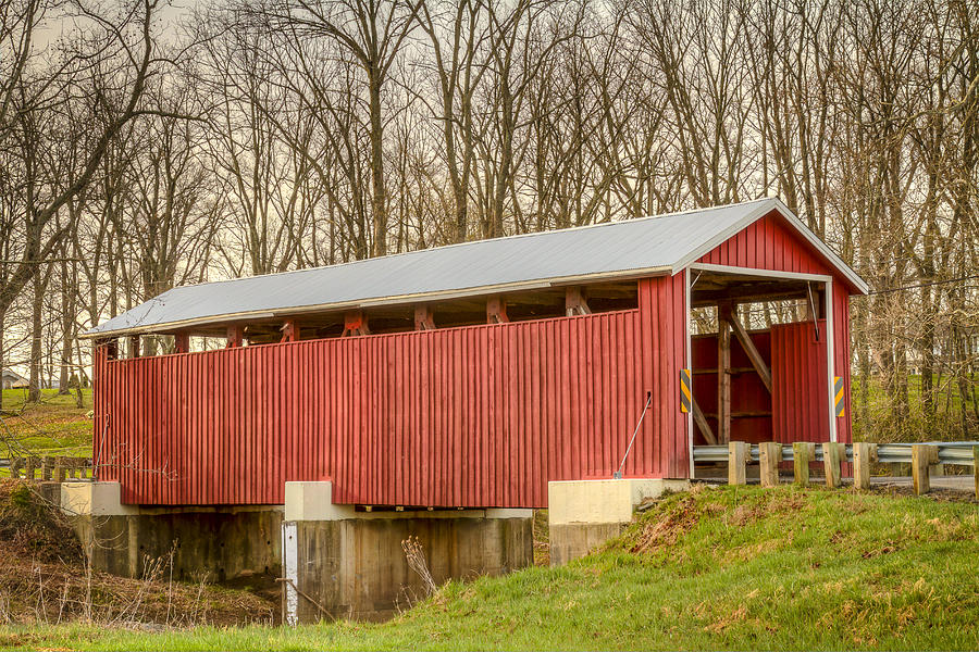 Martinsville Covered Bridge Photograph