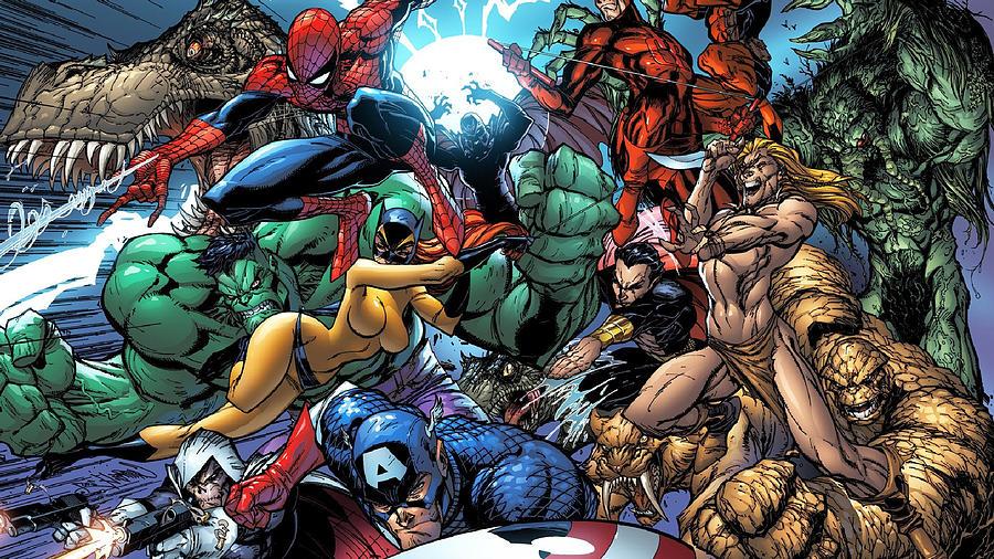 Marvel superheroes-698 by Jovemini ART