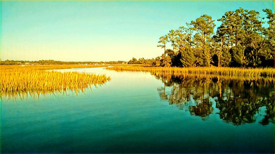 Marvelous Marsh by Sherry Kuhlkin