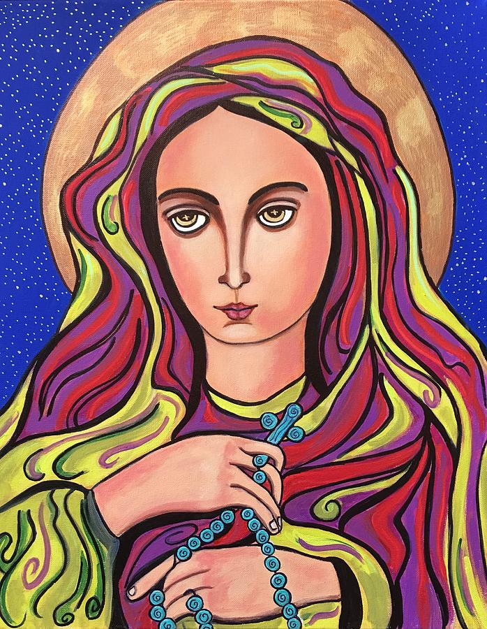 Mary and The Rosary by Susie Grossman