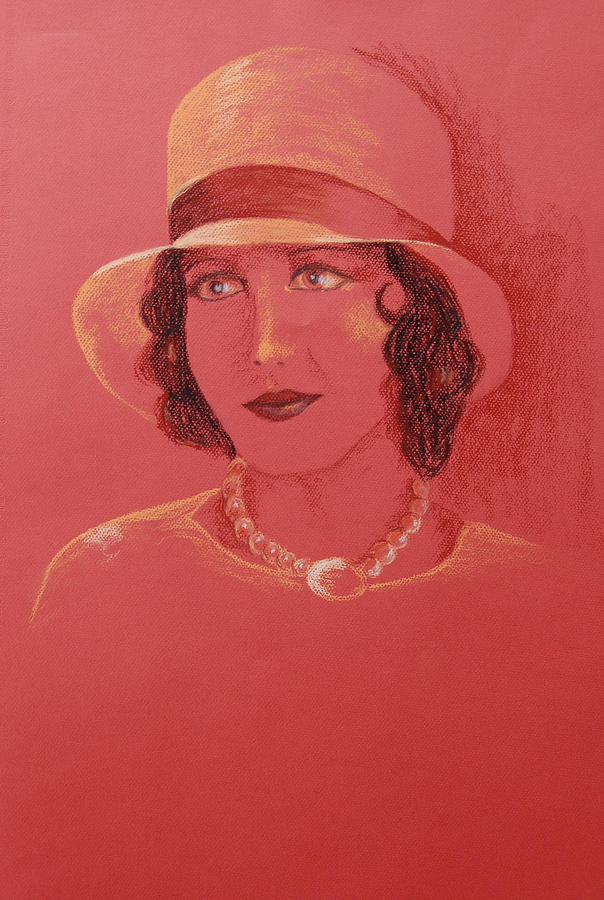Pastel Pastel - Mary Brian by Marina Garrison