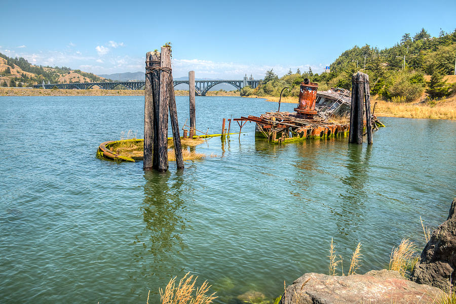 Gold Beach Photograph - Mary D. Hume by Kristina Rinell