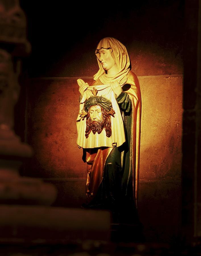 Catholic Icons Photograph - Mary Magdalene  by Chris Brewington Photography LLC