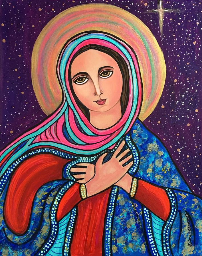 Mary, Mother of Mercy by Susie Grossman