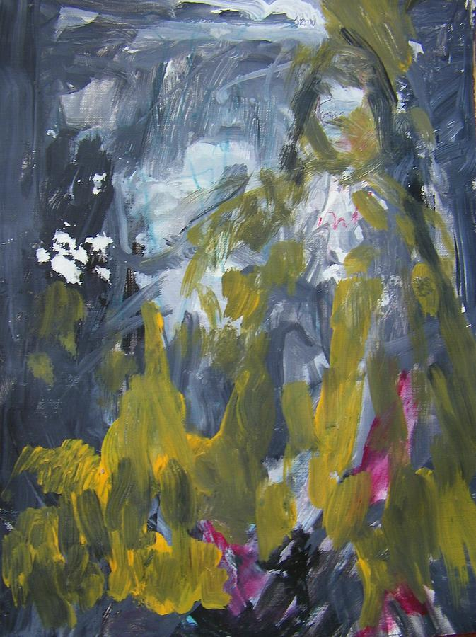 Abstract Painting - Mary Pettibone by Judith Redman