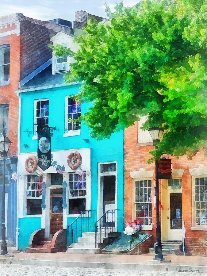 Pub Photograph - Maryland - Neighborhood Pub Fells Point Md by Susan Savad