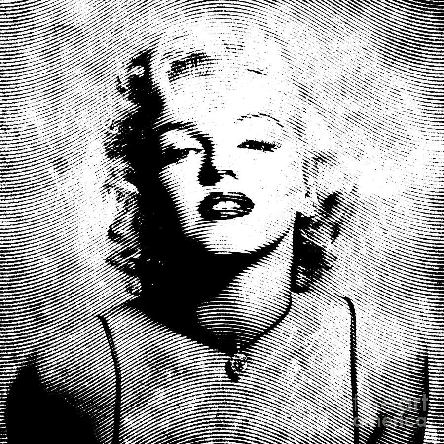 Marylin Digital Art - Marilyn Monroe - 04a by Variance Collections