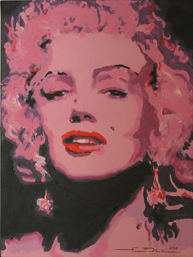 1962 Painting - Marylin Monroe by Eric Dee