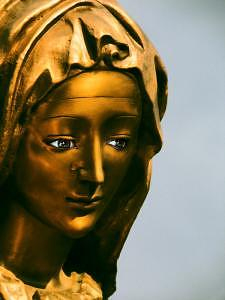 Cemetery Photograph - Marys Tear by Joshua Inayat