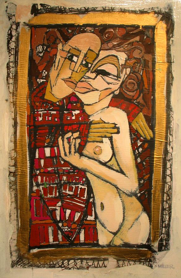 Lovers Painting - Marzipan by Samuel Miller