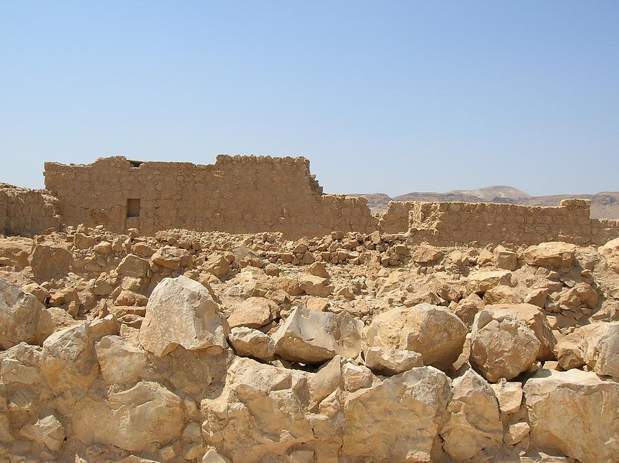 Israel Photograph - Masada II by Susan Heller