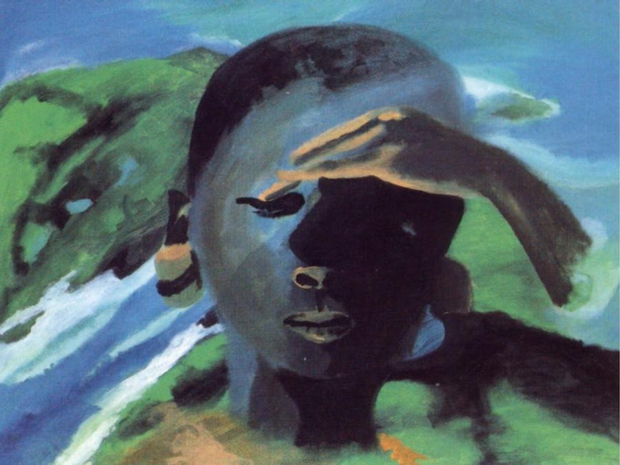 Masai Painting - Masai by Enrico Garff