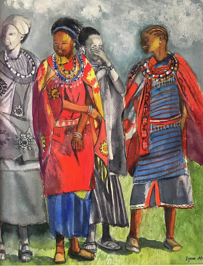 Masai Women by Lynne Atwood