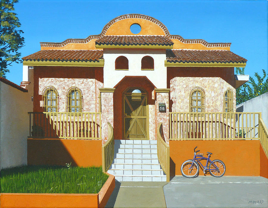House Painting - Mascota House by Michael Ward
