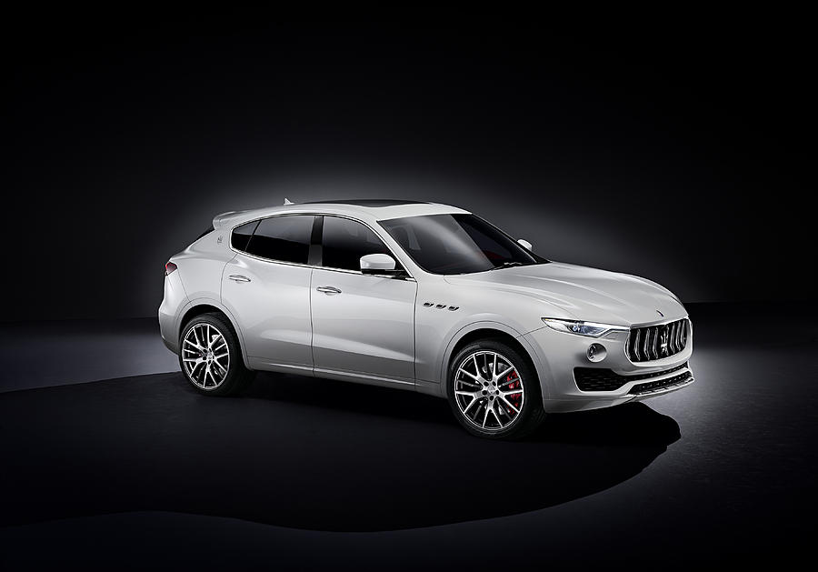 Car Digital Art - Maserati Levante by Dorothy Binder