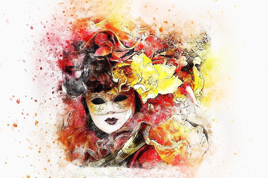 Mask Digital Art