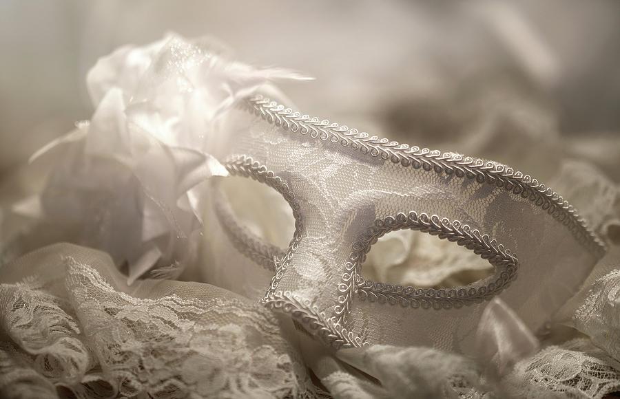 Mask Photograph - Mask by Cindy Grundsten