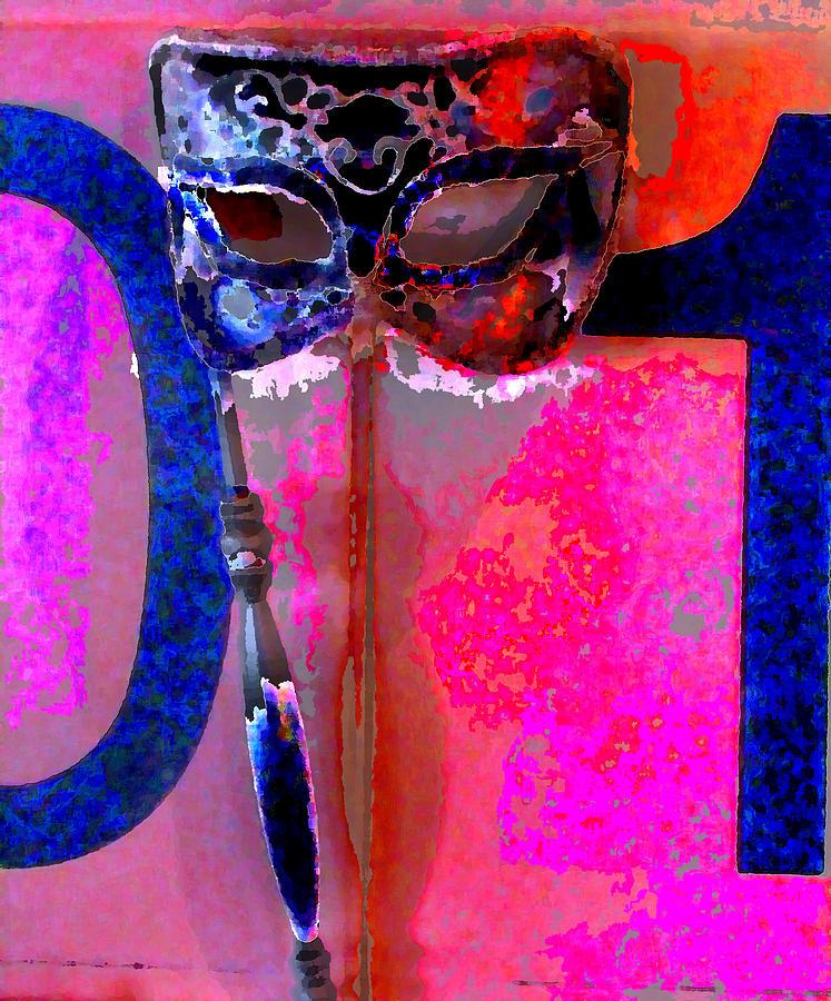 Mask Digital Art by Danielle Stephenson