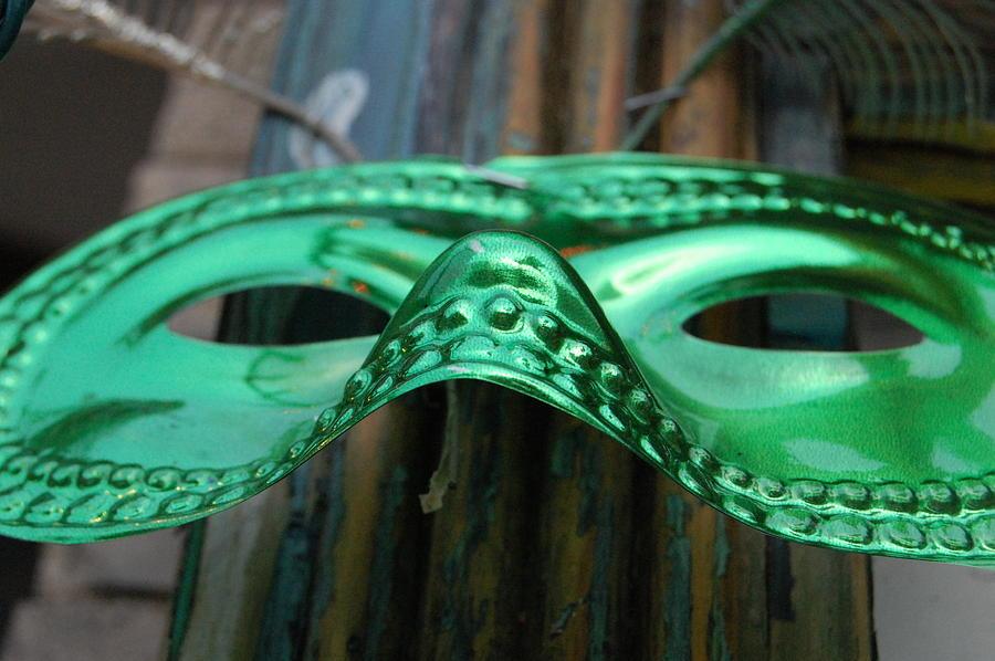 Mask Photograph - Mask by Kristin Britt