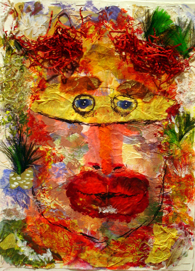 Mask Mixed Media - Mask by Lessandra Grimley