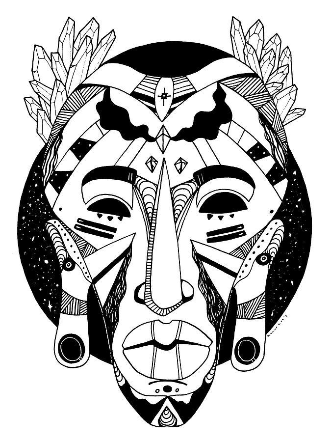 Mask No. 1 by Kenal Louis