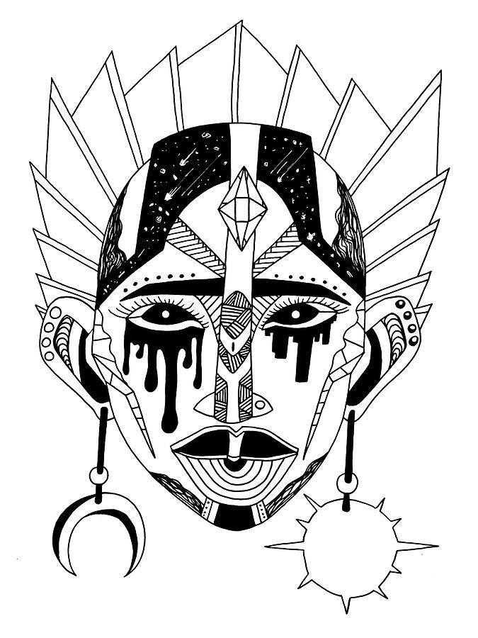 Mask No. 12 by Kenal Louis