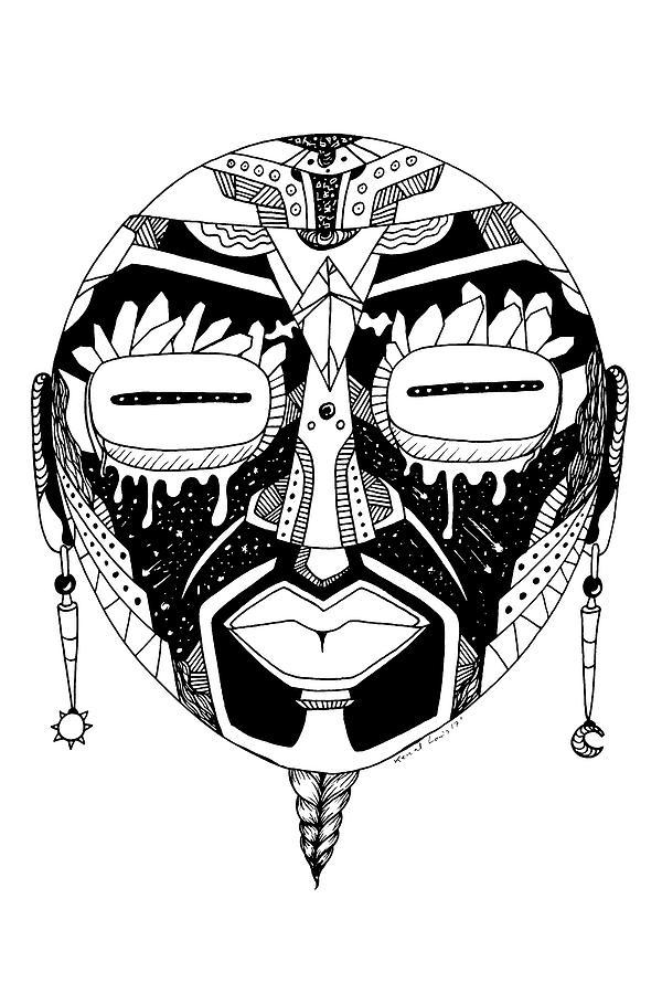 Mask No. 2 by Kenal Louis